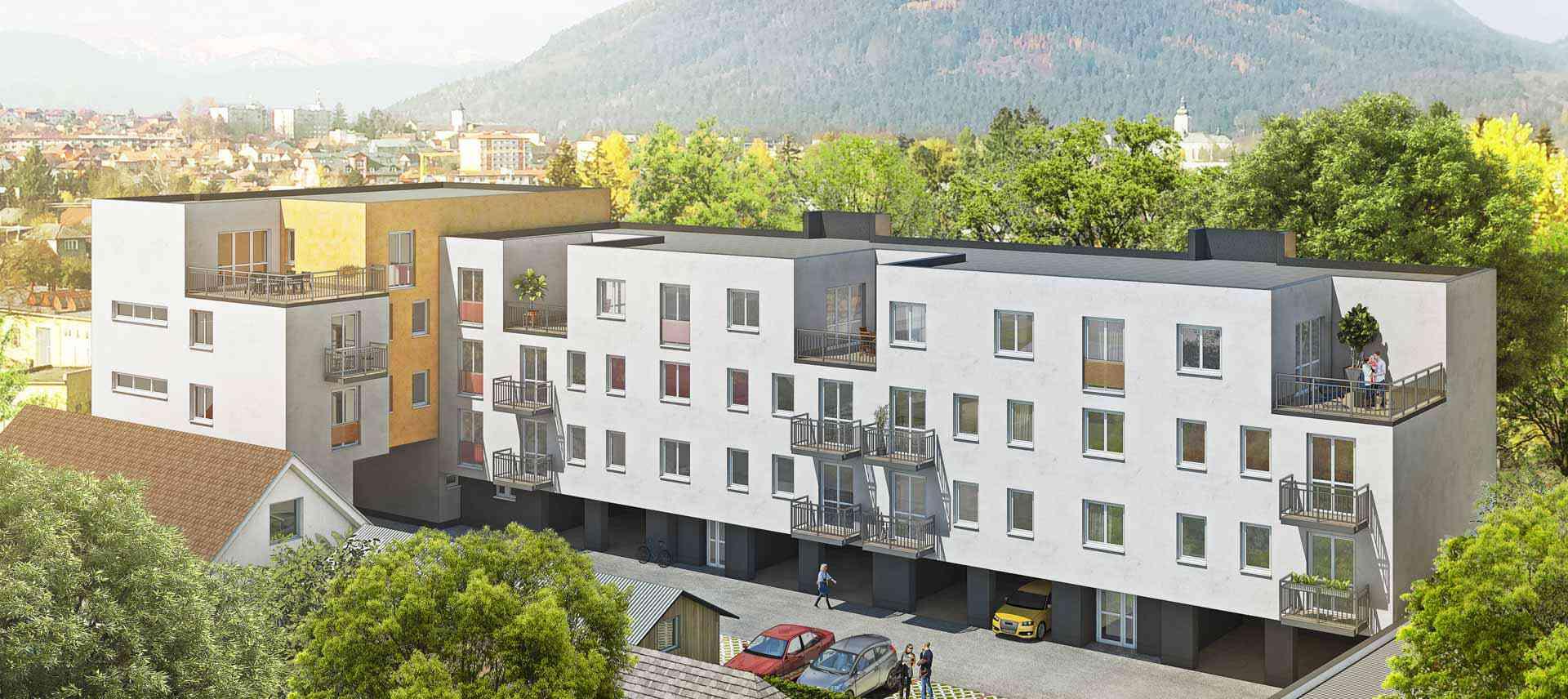 Rezidencia Ruža, byty v Ružomberku